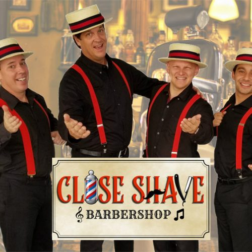Close Shave barbershop harmony music ensemble