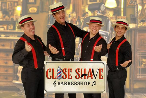Close Shave barbershop harmony music ensemble