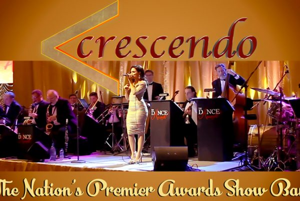 Crescendo awards band concept image