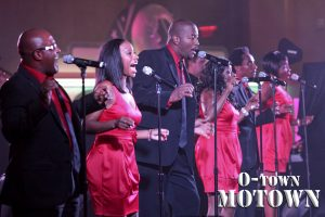 The great sound of soul makes its round trip journey home to its Southern roots with O-Town Motown, a live band that adds smooth sounds to any special event.