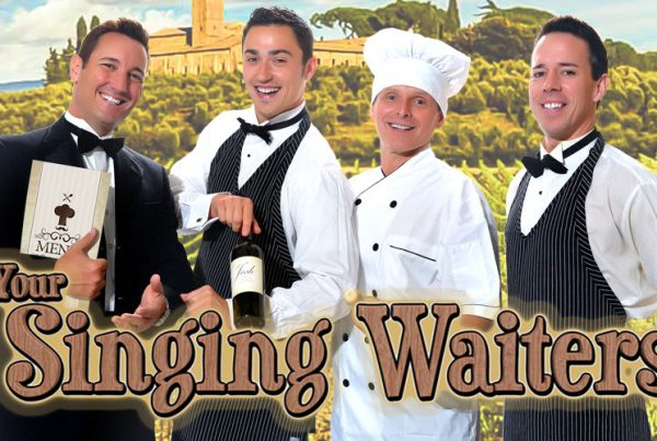 Your Singing Waiters concept photo